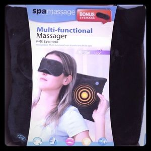 New Spa massage pillow with eye mask